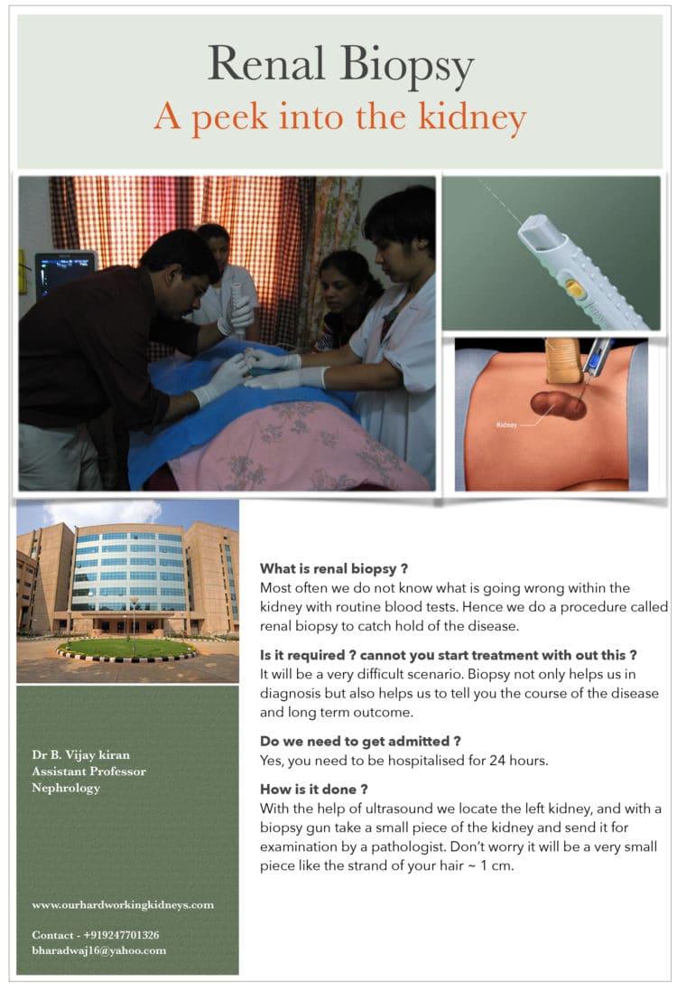 Renal Biospsy Doctor Telangana