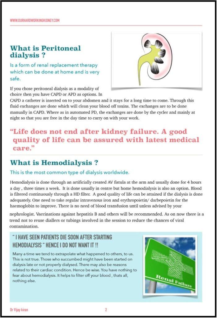 Kidney Dialysis doctor Telangana