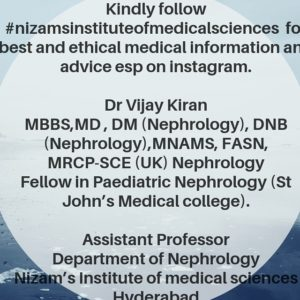 Nephrologist in Telangana