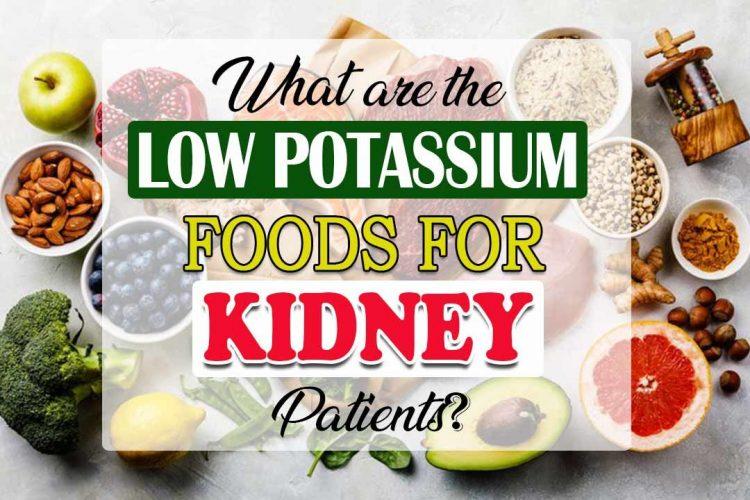 low potassium foods for kidney patients